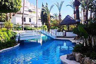 By the beach: garden and 3 swimming pools Málaga