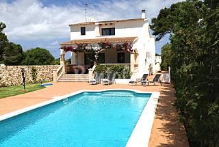 Villa para 8 personas cerca de la playa Sa Caleta Menorca