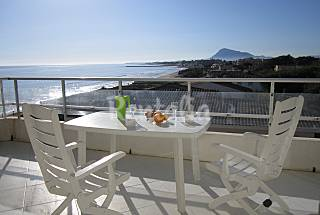 Apartamento sobre la playa.Vista panoramica Alicante