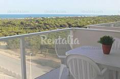 Pinos y mar. Apartamento con piscina y parking. Alicante