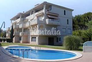 Apartamento de 2 habitaciones a 25 m de la playa Castellón