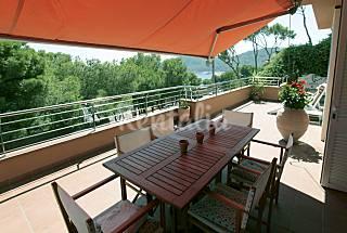 Apartamento para 8 pers a 200m de la playa Tamariu Girona/Gerona