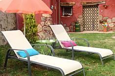 Haus zur Vermietung mit privatem Garten Segovia