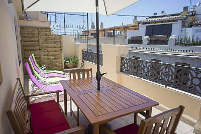 Apartment with Terrace in Old Town - Boix Street Valencia