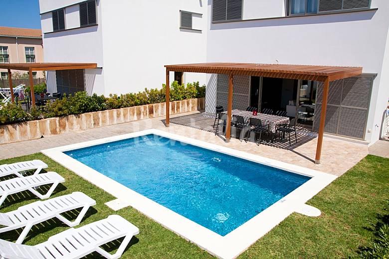Villa para 8 personas cerca de la playa de c bosch cala for Jardin hormiguita viajera villa bosch