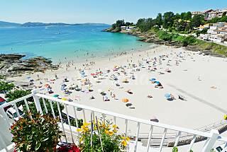 Apartamento con vistas al mar - 1ª linea de playa Pontevedra