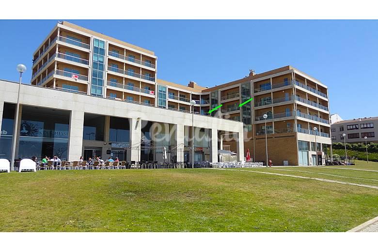 Appartement de luxe avec superbe vue de mer canidelo for Appartement exterieur