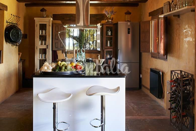 Ecologic Kitchen Valencia Enguera Cottage
