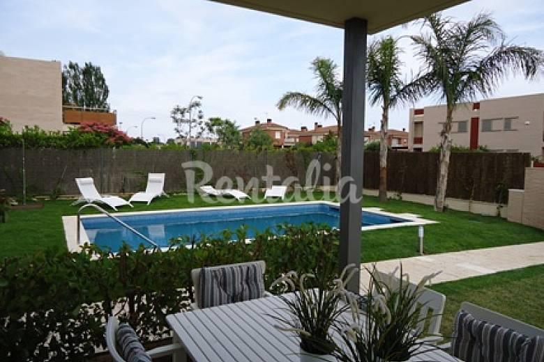 Villa Piscina Tarragona Cambrils villa