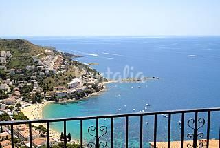 Apartamento para 2/4 personas a 1100 m de la playa Girona/Gerona