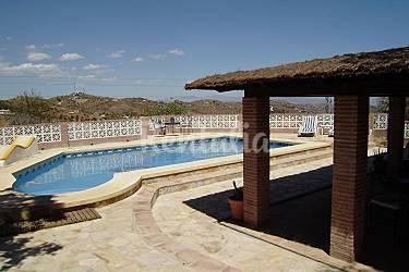 Casa en alquiler con piscina guaro m laga parque for Casas con piscina en malaga