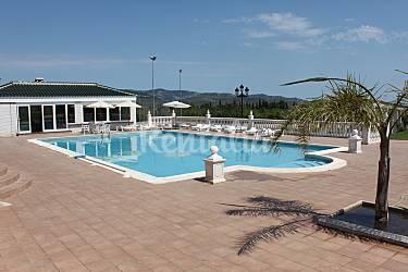 Villa masia sierra irta 7 km de la plage alcal de for Calcul m3 piscine