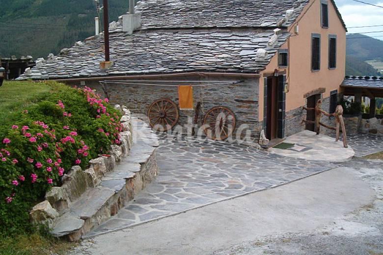casa en alquiler con jard n privado molejon vegadeo On casa jardin asturias
