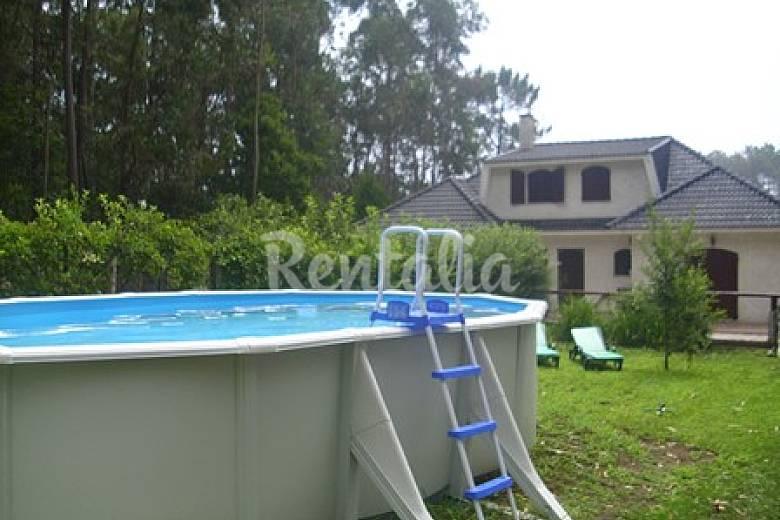 Vivenda com piscina a 100 metros de praia fluvial for Piscina 100 metros portugal