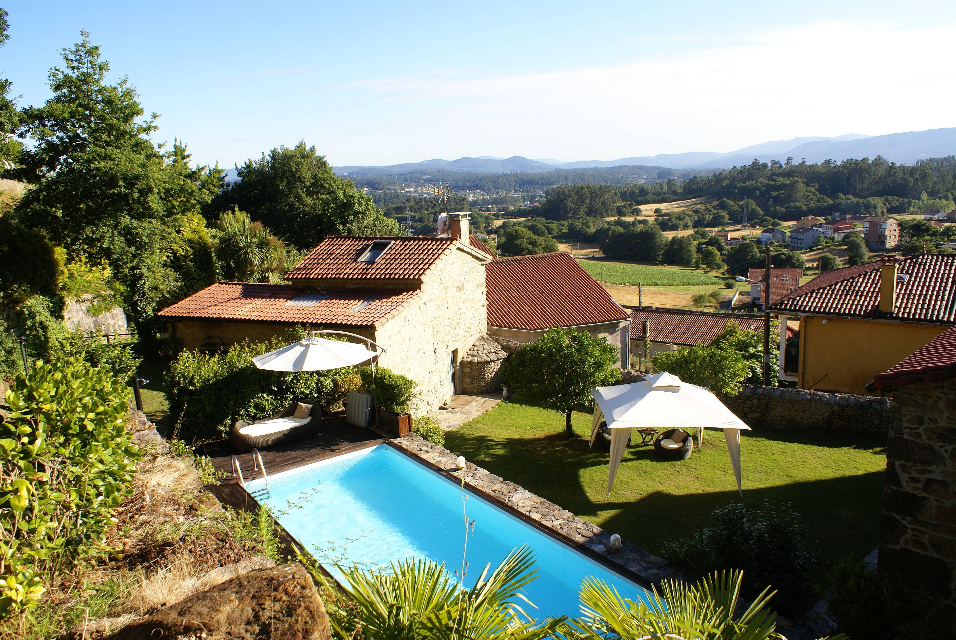 Casa para alugar com piscina casa de afora vt 00063 - Piscinas santiago de compostela ...