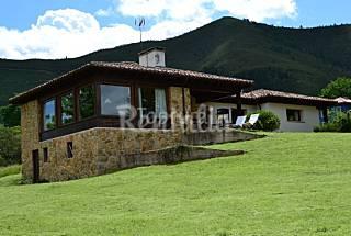 2 appartementes en location avec jardin privé Asturies