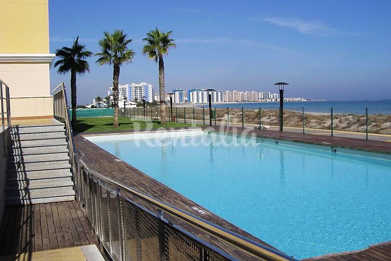 Luxury, Swimming pool Murcia San Javier Apartment