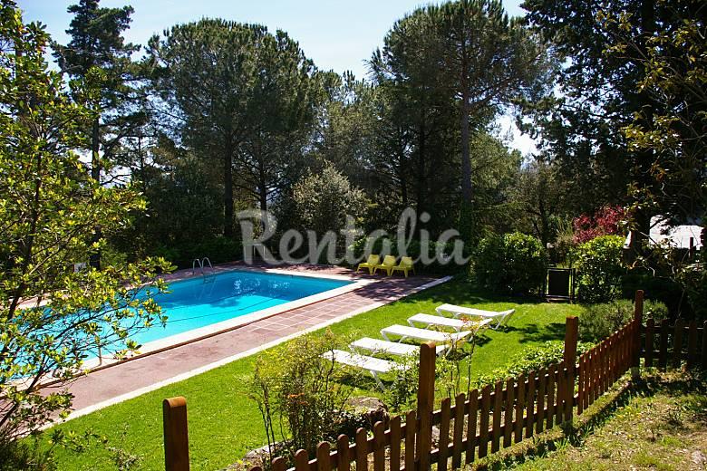 Maison en location avec piscine sant pere de vilamajor - Location maison avec piscine barcelone ...