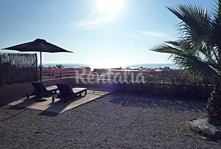 Two bedroomed house,sunset views, community pool. Ibiza
