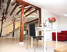 Loft alojamiento desayuno Madrid Museos INAP Madrid