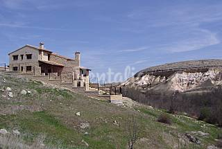 House for 8-10 people with private garden Segovia