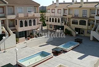 Dupplex-style bungalow for rent in Playa San Juan Alicante