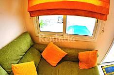 Apartment 5 pax, wifi, Private Pool in Badalona Barcelona