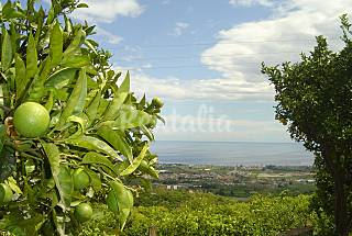 Villa for 1-4 people 5 km from the beach Catania