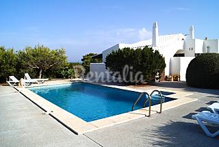 Villa with 3 bedrooms only 750 meters from the beach Minorca