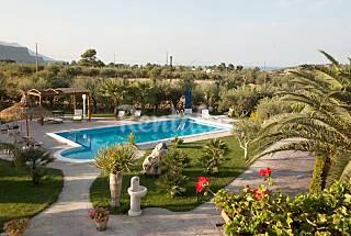 Villa Giara with jacuzzi private pool  Trapani