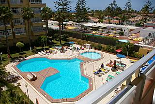 Apartment for 4-6 people only 900 meters from the beach Gran Canaria