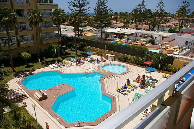 Appartamento per 4 6 persone a 900 m dalla spiaggia for Apartamentos jardin del atlantico gran canaria