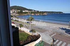 Piso para hasta 15 personas en 1ª línea de playa Lugo