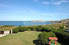 Ferienhaus am Strand mit Meerblick bei Santander Cantabria