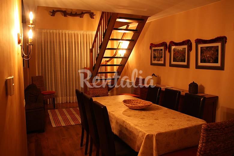 Apartment Dining-room Huesca Benasque Apartment