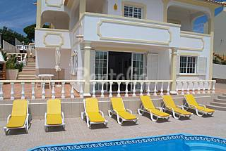 Villa - 4 bedr + 1 apt (2-14), pool, beach Algarve-Faro