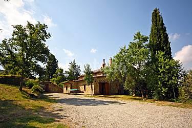 I Parte esterna della casa Arezzo Cortona Casa di campagna