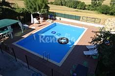 casa rural con apartamento  habitaciones y piscina Navarra