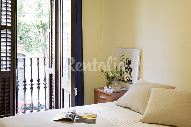 Apartment Bedroom Barcelona Barcelona Apartment