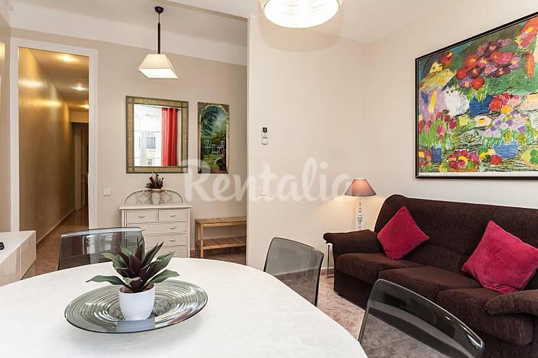 appartamento in affitto nel centro di barcelona