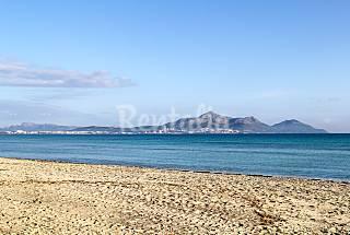 Villa pour 8-9 personnes à 50 m de la plage Majorque