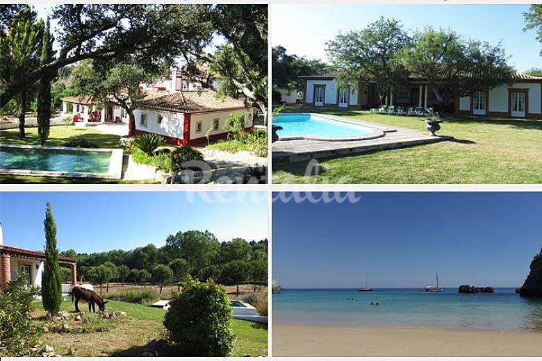 3 Houses private pools in a farm  Lisbon coast   Setúbal