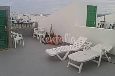 Appartement voor 4 personen op 200 meter van het strand Lanzarote