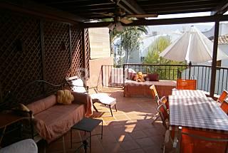 Casa para 9-10 personas a 150 m de la playa Almería