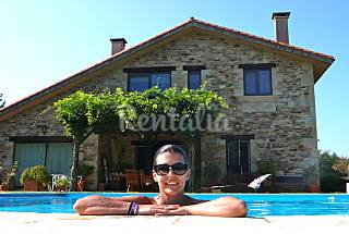 Villa with 3 bedrooms with swimming pool A Coruña