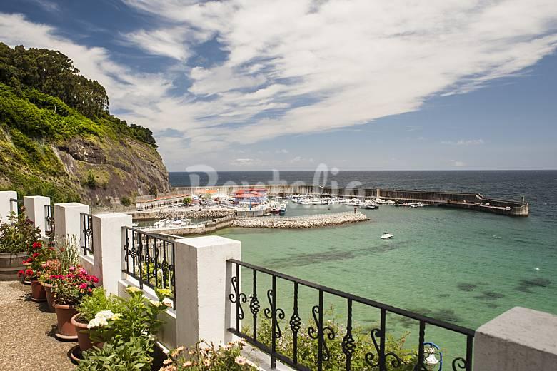 House for 5 people on the beach front line lastres colunga asturias comarca de la sidra - Casas vacaciones asturias ...
