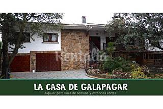 Villa en alquiler con piscina Madrid