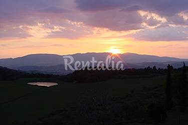 Independent Views from the house Perugia Spoleto Countryside villa