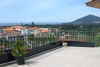 vivenda, 4 adultos e 2 a 3 crianças, vista mar e serra Viana do Castelo