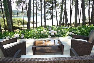 Villa para 6-7 personas en 1a línea de playa A Coruña/La Coruña